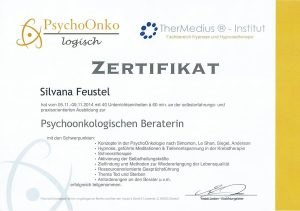 Psychoonkologische Beraterin Silvana Feustel