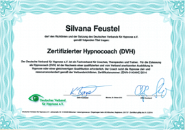 Zertifikat Hypnocoach